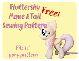 Fluttershy Mane and Tail Pattern by Fire-n-Fluff