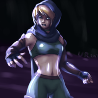 Alchana in the Pit by Unrelatedpants