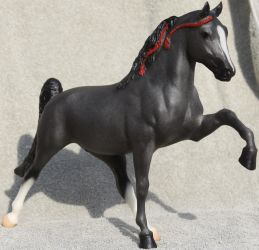 Breyer Midnight Sun - Stock 4 by Lovely-DreamCatcher