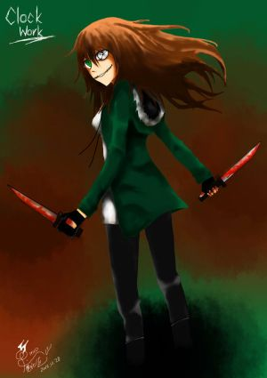 Creepypasta the Fighters: Clockwork by MaxGomora1247 on DeviantArt