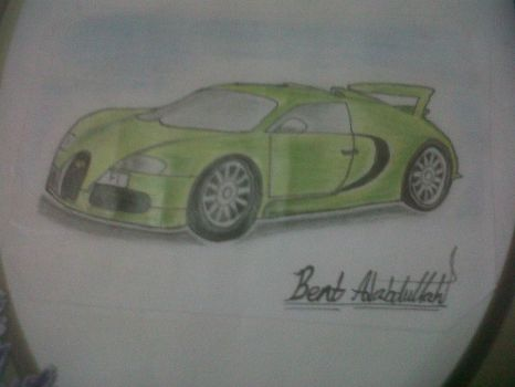 my old drawing by Hoday