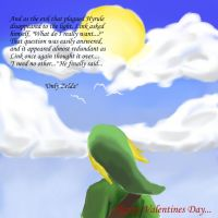 Valentines: Link's Thoughts by AnimeAngelus