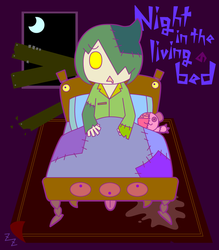 Night in the living bed by ZZ-ZZZ
