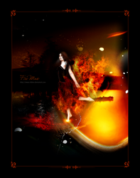 Fire Muse by chilion