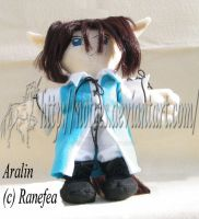 Aralin plushie commission by notoes
