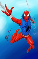 Scarlet Spider by RoninH5X