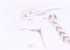 Shadow's Dragon form. by GhostLiger