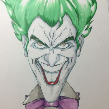 The Joker Colored by JasonScholte