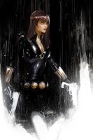 A widow caught in the rain by Peter-v-Nguyen