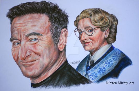 Robin Williams Tribute by kirstykk999