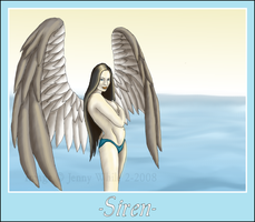 Mythical Creatures-Siren by BlueEyesBlackTears