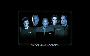 Starfleet Captains by KadouCreations