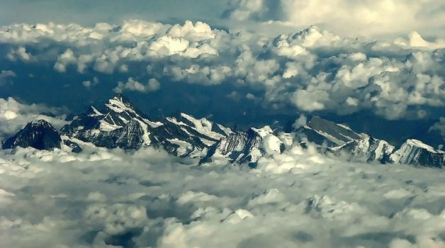 Above The Alps by stefanpriscu