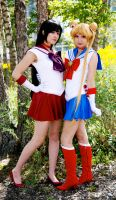 Sailor Mars and Moon Fan Expo 2014 #2 by Lightning--Baron