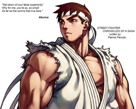 Street Fighter_C. of a Saga by KdiOtox