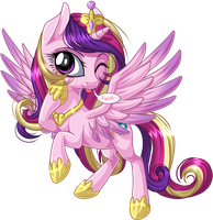 Princess Cadance by KittehKatBar