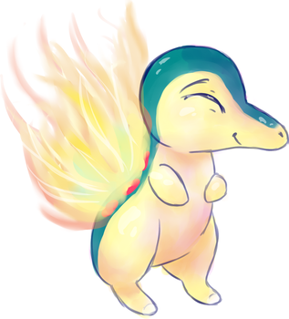 Cyndaquil for Muchietan by InkBlu