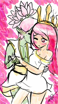 Thumbnail Sketch Child of Light  Aurora love Gen by taedesign
