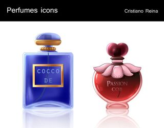 Perfumes icons by CristianoReina