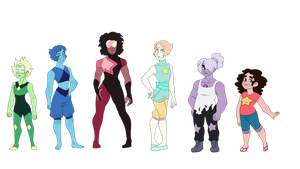 The Crystal Men (Steven Universe Genderbend) by Decapitated-Kittens
