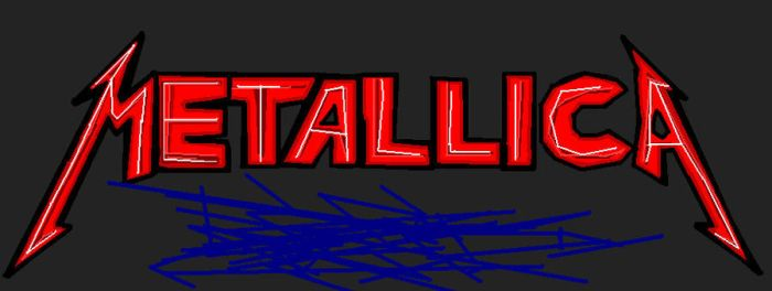 Metallica logo Made By Me by pokezilla