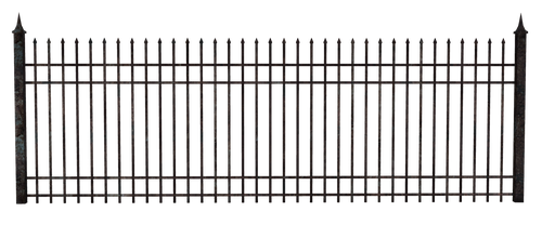 UNRESTRICTED - Rusty Metal Fence by frozenstocks