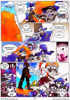 First Match! Splat Jam vs Vitamin INK - Page 17 by TamarinFrog