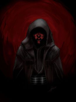 Sith - Darth Maul by Polyne55