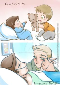There Ain't No Me If There Ain't No You by KamiDiox