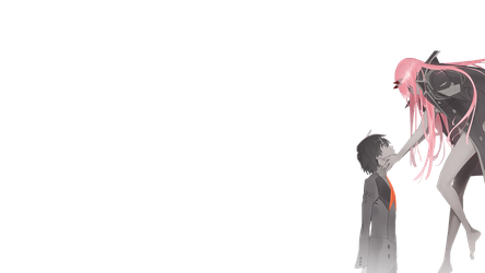 Zero Two and Hiro Render by FuriosaOW