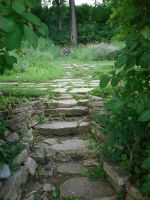 Stone Stairs by midnightstouchSTOCK