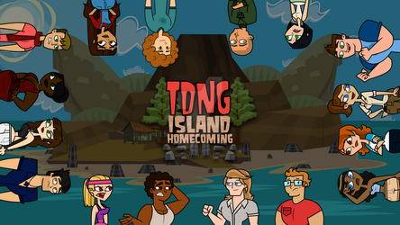 Total Drama Island Homecoming - Cast by lilycovecave1