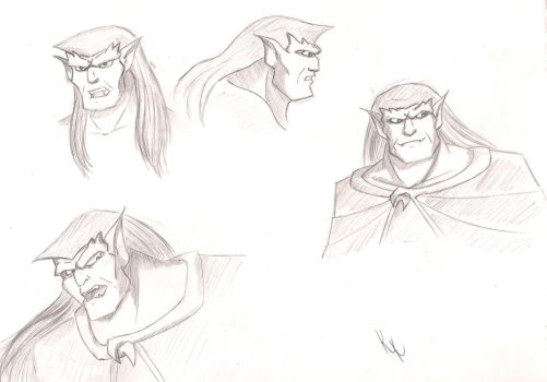 Goliath sketches by KristyBarka
