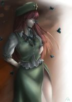 Hong Meiling / Fan Art 02 by Killerjaja