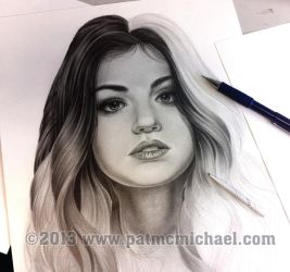 Lucy Hale W.I.P. by pat-mcmichael