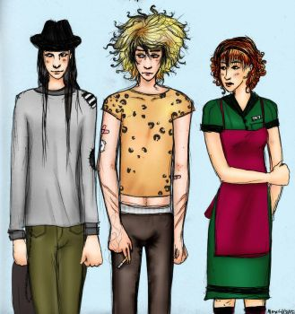 stuart, milkman, and molly by chemicalflowers