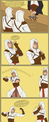 Altair's finger by LilayM