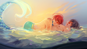he fell in love a long time ago by nathengyn