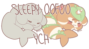 Sleepy Oofoo YCH | OPEN by Ashichoo