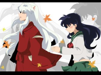 Inuyasha +Autumn+ by aidmoon