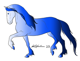 10 point-BlueHorse Adopt (OPEN) by HaltaraCS