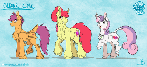 MLP:YL - Older CMC by InuHoshi-to-DarkPen