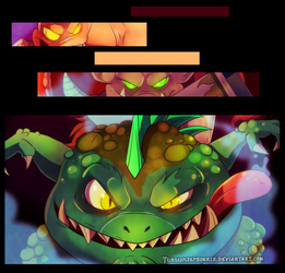Spyro - Welcome to the Dungeon PREVIEW by Turquoisephoenix