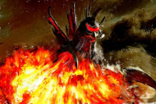 Wrath of Gigan by M60-Carnifex