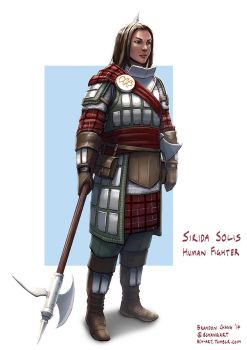 Sirida Solis, Human Fighter Revisited by bchart