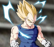 DBM - Opening - Vegeta shadows and lights by Animaster3000