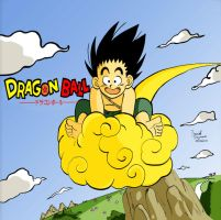 Go towards Pure Adventure - Dragon Ball - Colored by Dragoon88-DragonDao