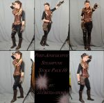Post Apocalyptic Steampunk Stock Pack 10 by lucretia-stock