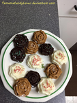 Baking with TCL: Homemade chocolate roses by TamamaCandyLover