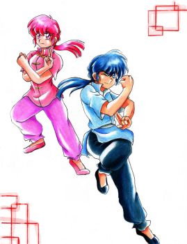 Ranma y medio by ranmaonehalf